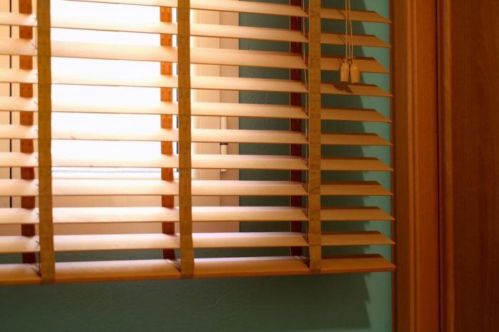 Venetian Wood Blinds